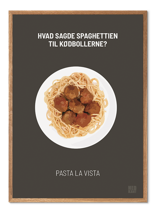 Dårlig Joke - Pasta - BrunGrøn