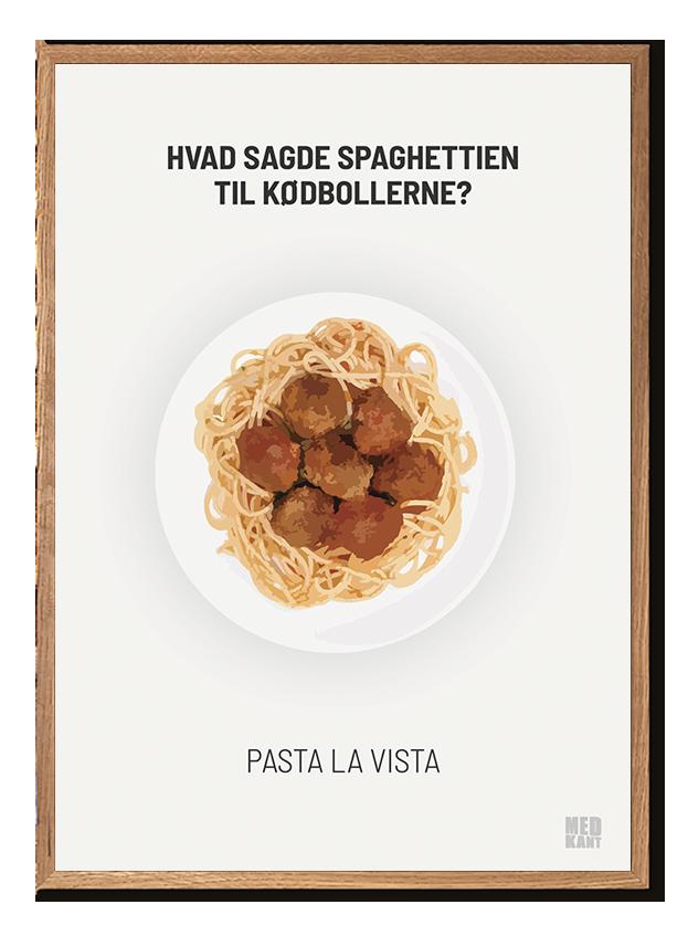 Dårlig Joke - Pasta - Hvid