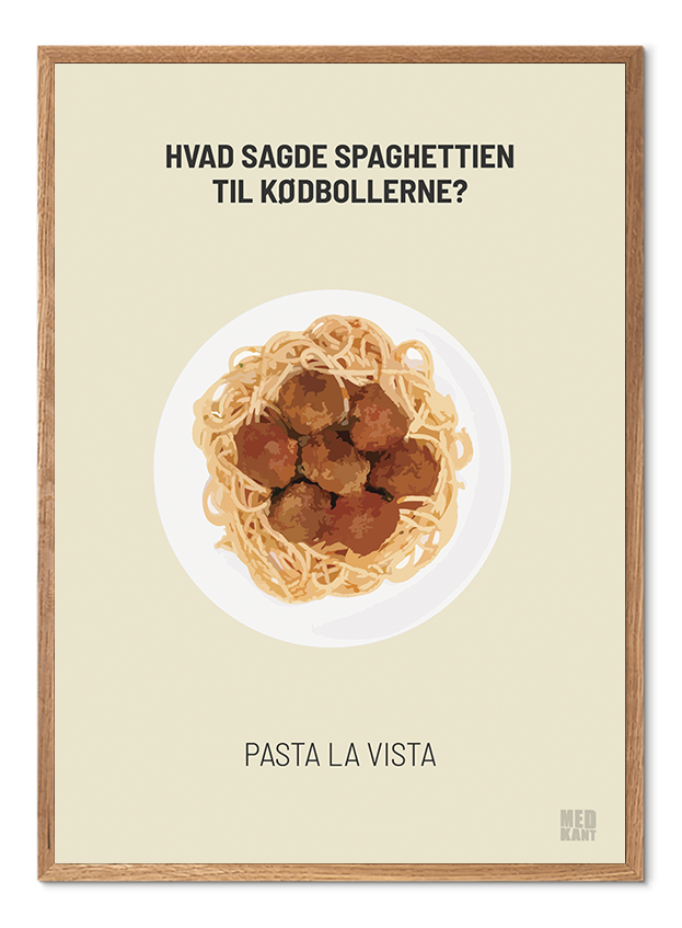 Dårlig Joke - Pasta - Lys Sand