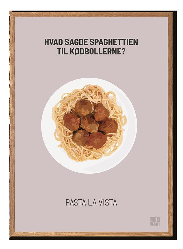Dårlig Joke - Pasta - Lyserød