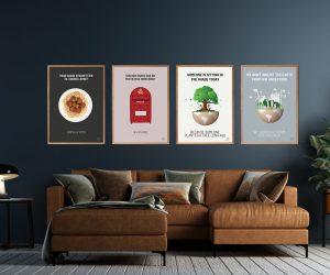 plakater, kunst plakater, co2 neutral, dårlige joke plakat, bad joke plakat